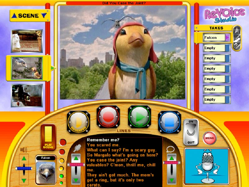 Stuart Little Dvd Menu